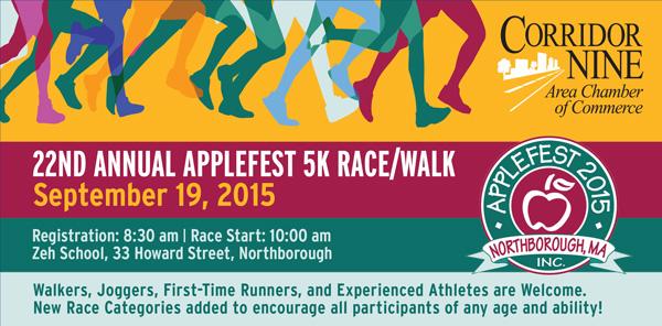 22nd Annual Applefest 5k Race & Walk