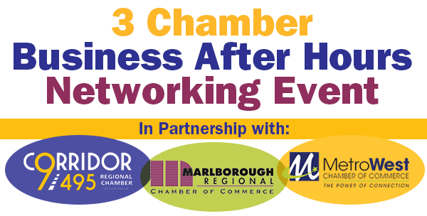 3 Chamber Business After Hours Networking Event
