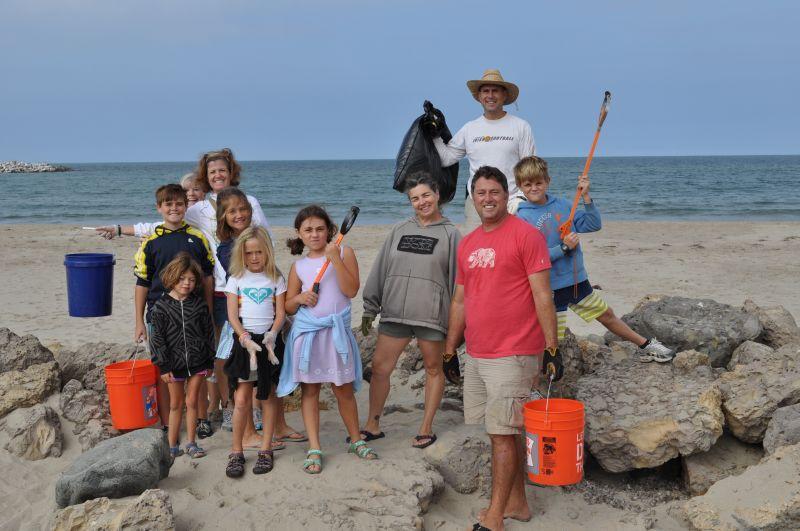 Marina Park Beach/Park Cleanup with Ventura Suburban Kiwanis