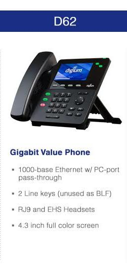 Digium Phone D62