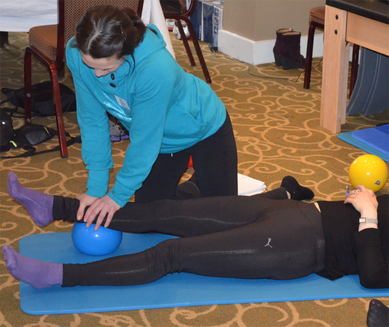 Myofascial Release ankle work