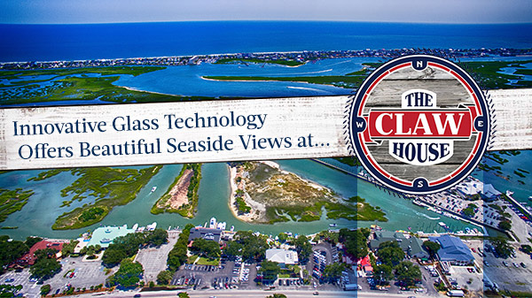 Innovative Glass Technology Offers Beautiful Seaside Views at The Claw House Restaurant