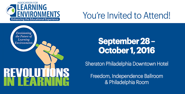 LearningSCAPES 2016 Conference and Exposition