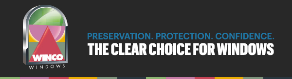 Preservation, Protection. Confidence. The Clear Choice for Windows