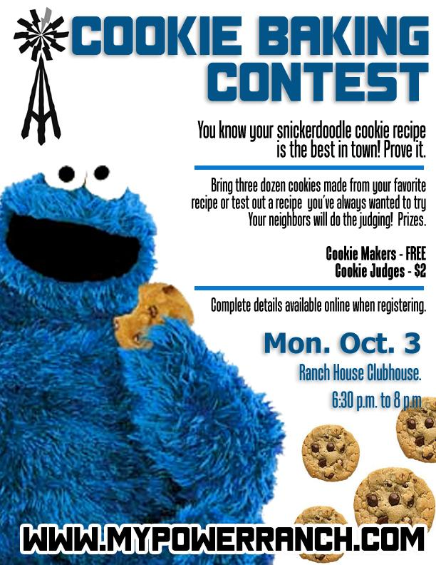 Dr Driving 3 >> PRCA Cookie Baking Contest