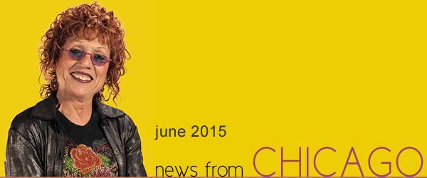 Judy Chicago - Chicago Corner, June, 2015
