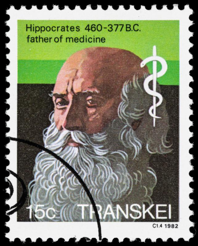 Transkei stamp honoring Hippocrates