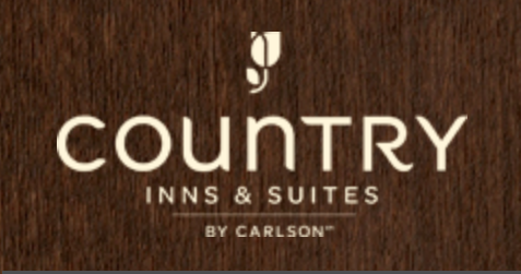 Country Inn Logo on Background