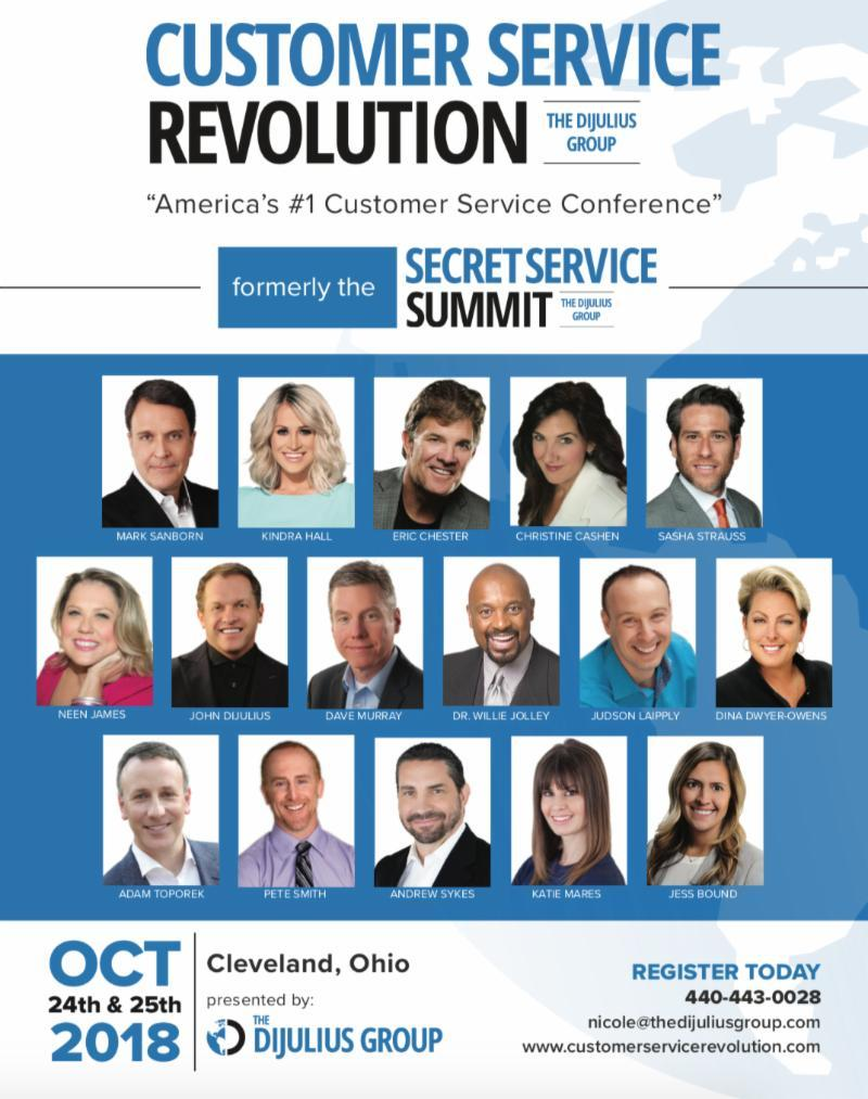 The Customer Service Revolution Conference 2018