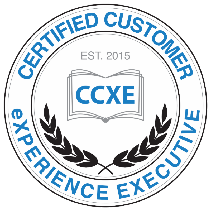 Certified Customer eXperience Executive Badge