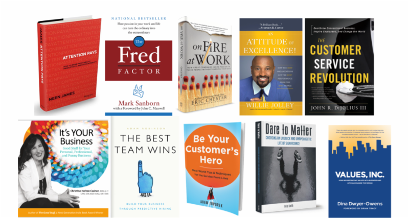 Top 10 Books on Customer Service