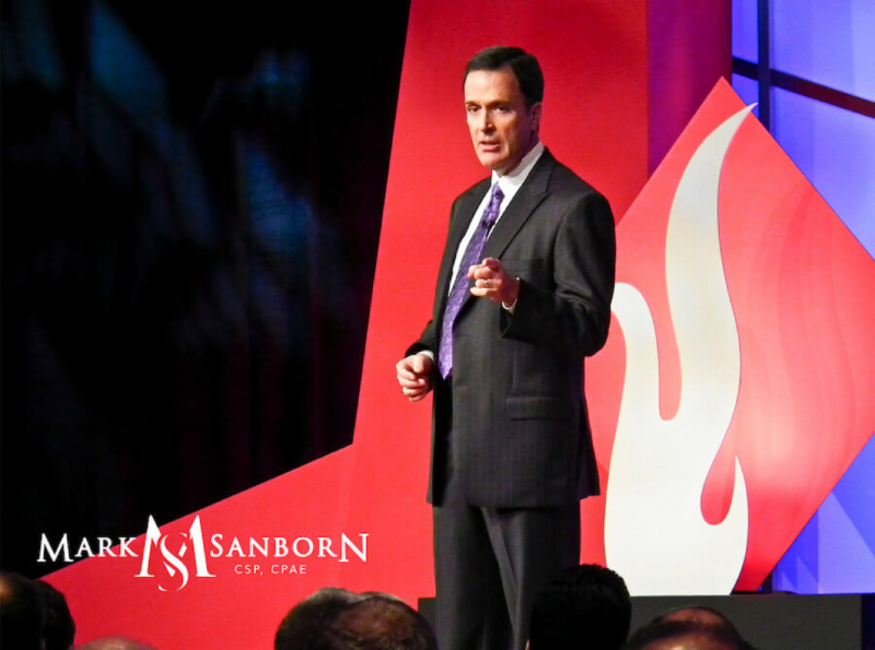Mark Sanborn, speaking live