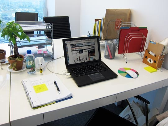 Charming ... Most Productive When Working At A Desktop That Is Free Of Clutter.  Other People, Mostly Creative Types, Thrive In A Setting That Is Disorderly. Design Ideas
