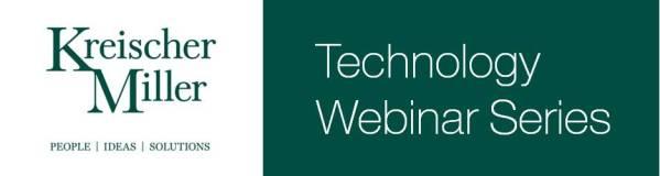 Technology Webinar Series