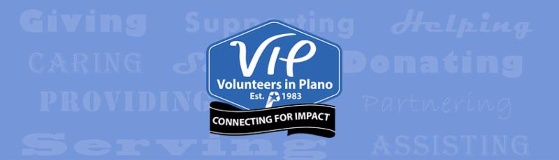 Volunteers in Plano Logo
