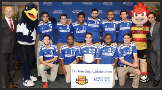 Broward College Soccer Innovation