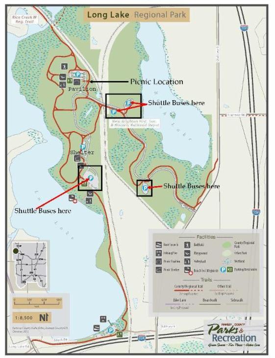 2017 Picnic Park Map