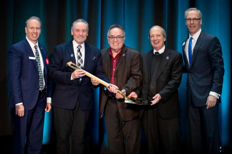 Golden Shovel goes to Port of Tacoma, EDB 2019 Annual Meeting