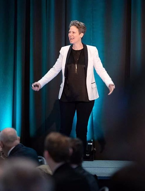 Rebecca Ryan at 2019 EDB Annual Meeting