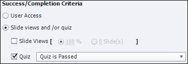 Success_Completion Criteria