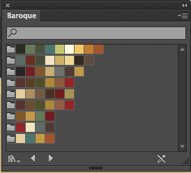 Swatches in Illustrator have amazing color combinations