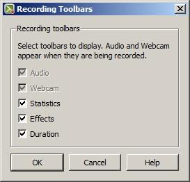 Camtasia: Recording Toolbars