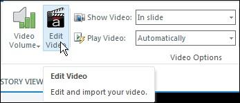 Articulate Storyline: Edit Video.