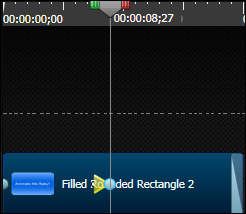 Camtasia Studio: Second animation added.