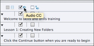 Adobe Captivate CC's.