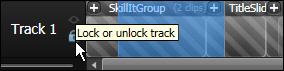 Locking a Track