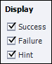 Adobe Captivate: Display Success, Failure, and Hint feedback.