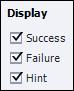 Adobe Captivate: Display Success, Failure, and Hint feedback.