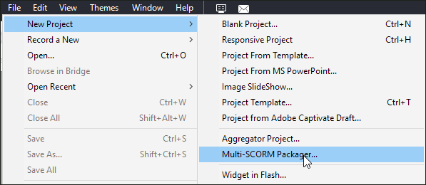The Logical Blog by IconLogic: Adobe Captivate: Multi-SCORM Packager