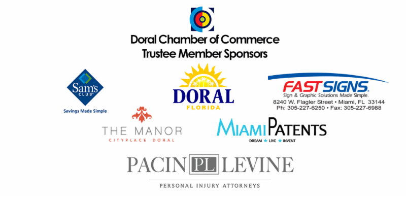 Doral Chamber of Commerce Trustee Banner Horizontal