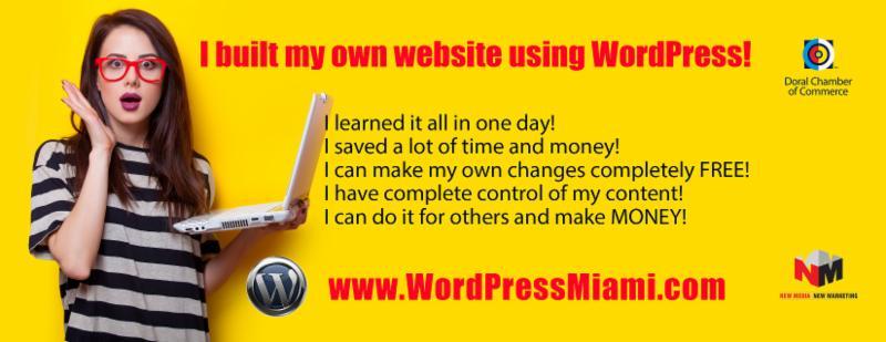 WordPress Class Flyer