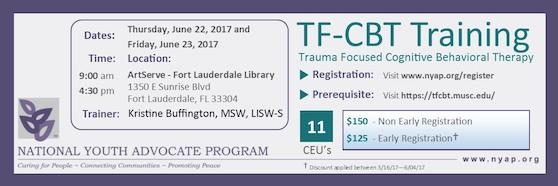 trauma behavioral cognitive focused therapy overview training