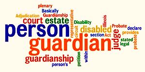 Guardianship words