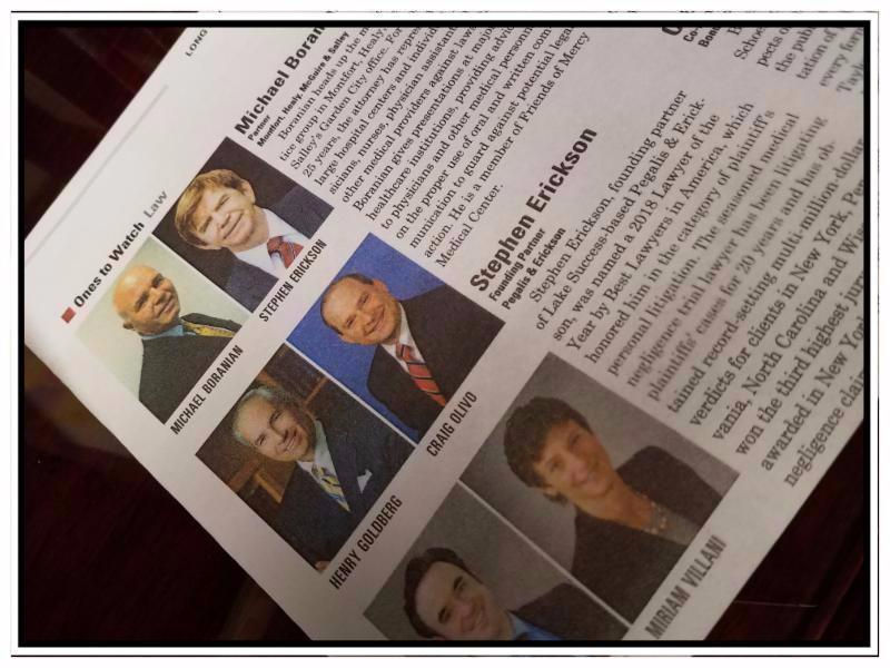 Stephen Erickson featured in Long Island Business news .