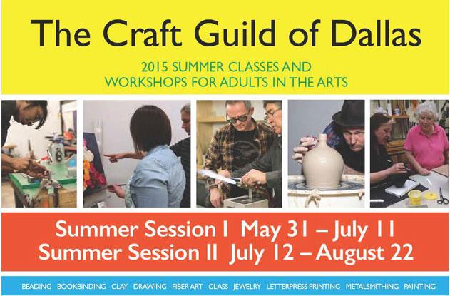 Summer 2015 Brochure of Classes & Workshops