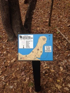 Directional Signs at South Fork Nature Center