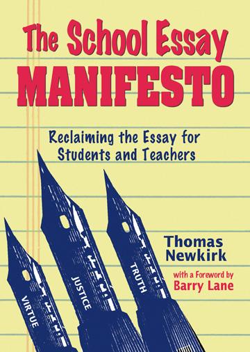 school essay manifesto