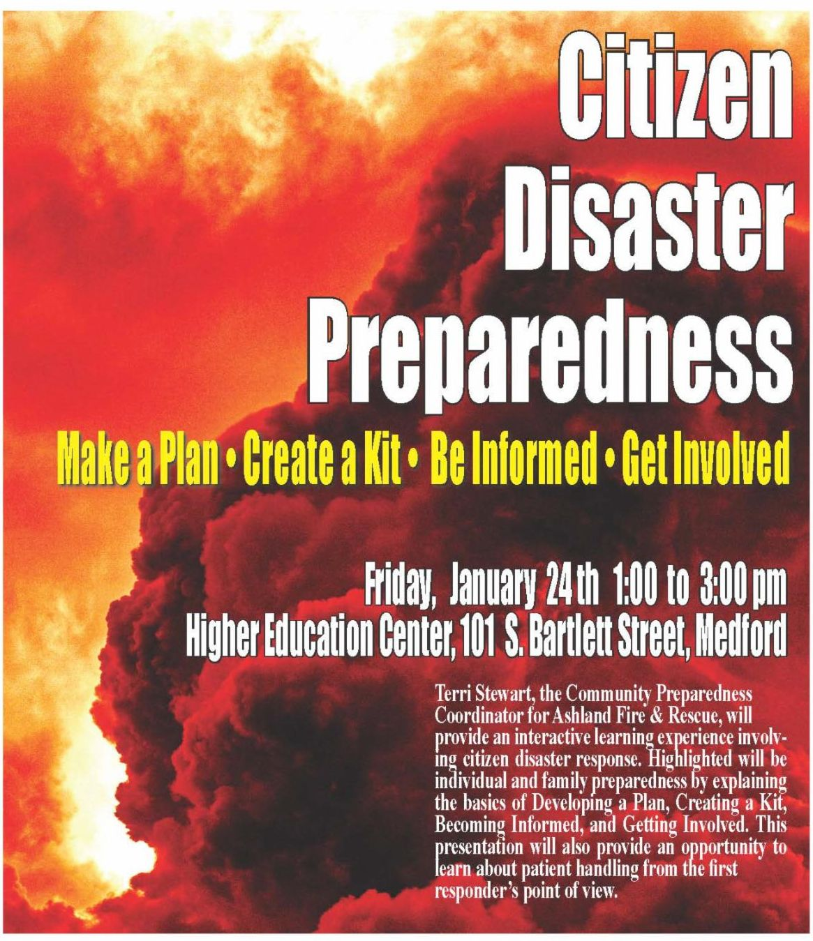 Citizen Disaster Preparedness