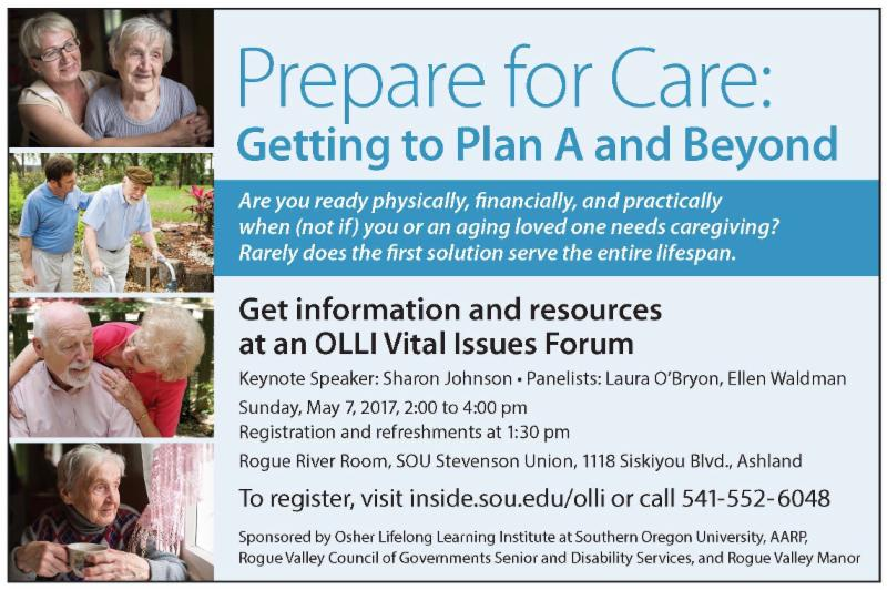 OLLI Vital Issues Forum