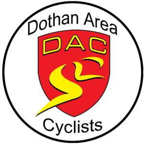 Dothan Area Cyclists DAC logo