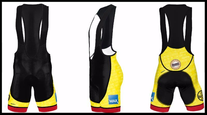 2016 Glassner Gear Men's Bib Shorts