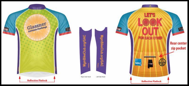 2018 Glas2018 Glassner Gear sports cut jersey