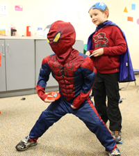 Superhero Training - March 9