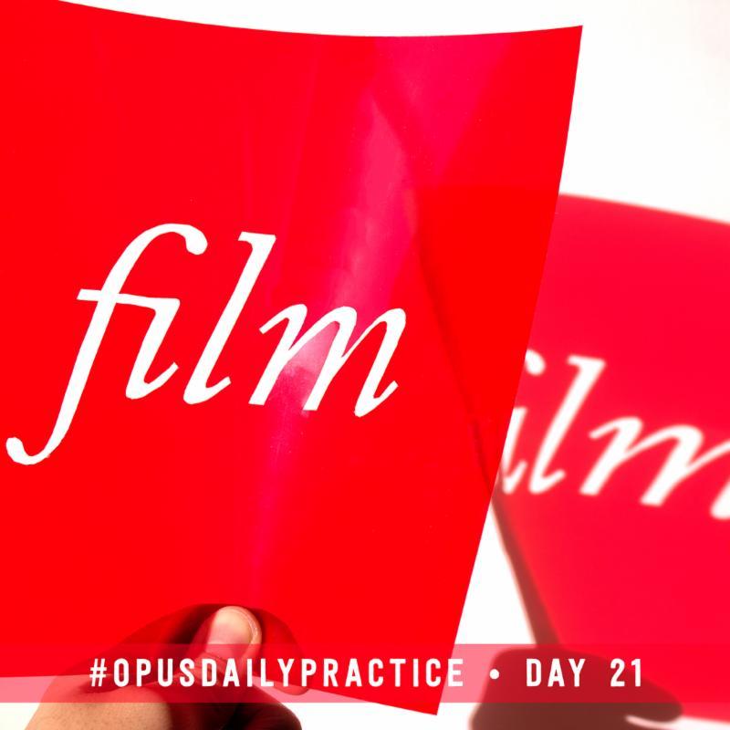Day 21: Film
