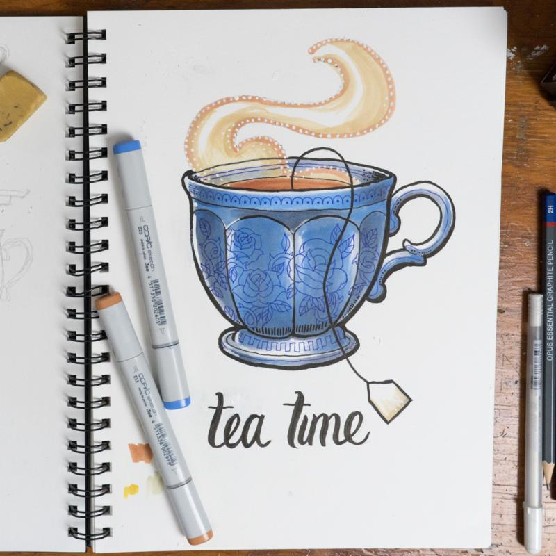 Day 15: Tea Time