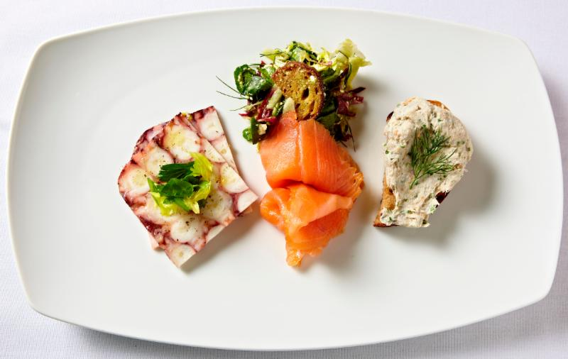 Learn The Art of Seafood Charcuterie with Chef Christophe Jalbert at Newport Cooks, Newport RI